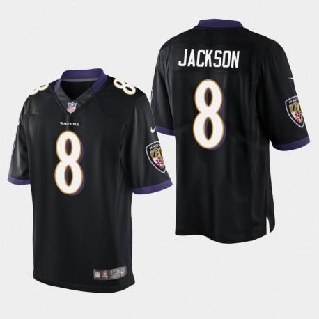 Männer Baltimore Ravens & 8 Lamar Jackson 2018 NFL Draft Vapor Untouchable Limited Jersey - Schwarz