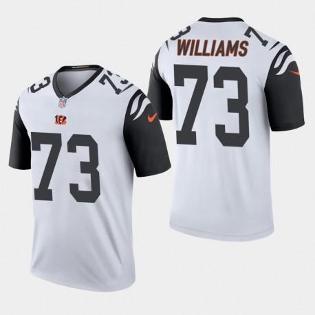 Männer Cincinnati Bengals und 73 Jonah Williams 2019 NFL Draft Farbrausch Legend Jersey - Weiß