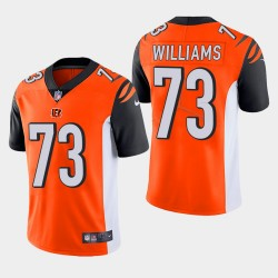 Männer Cincinnati Bengals und 73 Jonah Williams 2019 NFL Draft Vapor Limited Trikot - Orange