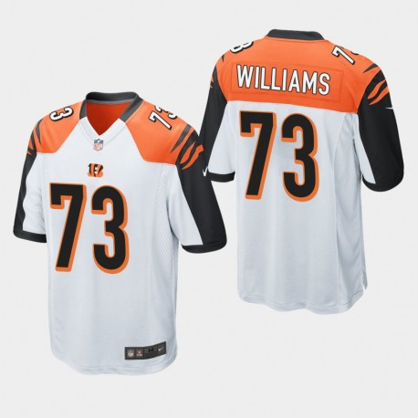 Männer Cincinnati Bengals und 73 Jonah Williams 2019 NFL Draft Spiel Jersey - Weiß