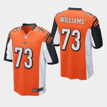 Männer Cincinnati Bengals und 73 Jonah Williams 2019 NFL Draft Spiel Jersey - Orange