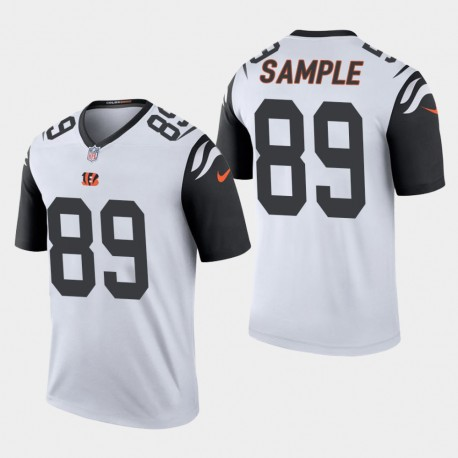 Männer Cincinnati Bengals & 89 Drew Probe 2019 NFL Draft Farbrausch Legend Jersey - Weiß