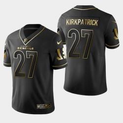Männer Cincinnati Bengals und 27 Dre Kirkpatrick Golden Edition Vapor Untouchable Limited Trikot - Schwarz