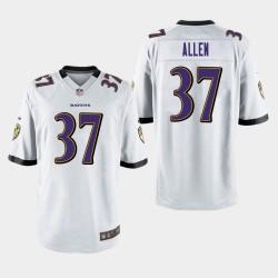 Männer Baltimore Ravens # 37 Javorius Alle Spiel Trikot - Weiß