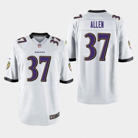 Männer Baltimore Ravens & 37 Javorius Alle Spiel Jersey - Weiß