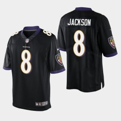 Männer Baltimore Ravens # 8 Lamar Jackson Vapor Untouchable Limited Trikot - Schwarz