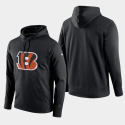 Männer Cincinnati Bengals Schaltung Logo Wesentliche PulloverHoodie - Schwarz