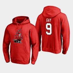 Männer Tampa Bay Buccaneers und 9 Matt Homosexuell 2020 Neues Logo PulloverHoodie - Rot