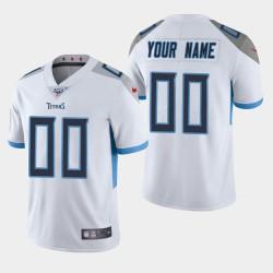 Tennessee Titans Custom 100. Saison Vapor Limited Trikots - weiß