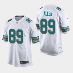 Herren Miami Dolphins Dwayne Allen Throwback Spiel Trikots - Weiß