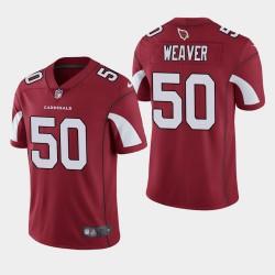 2020 NFL Draft Arizona Cardinals und 50 Evan Weaver Vapor Untouchable Begrenzte Trikot Männer - Kardinal