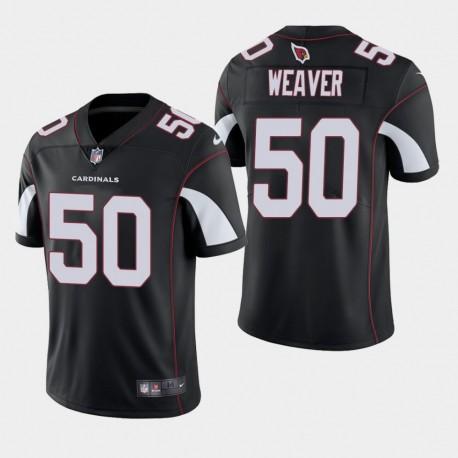 2020 NFL Draft Arizona Cardinals und 50 Evan Weaver Vapor Untouchable Begrenzte Trikot Männer - Schwarz