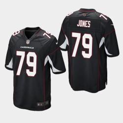 2020 NFL Draft Arizona Cardinals und 79 Josh Jones Spiel Trikot Männer - Schwarz