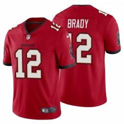 Tom Brady Tampa Bay Buccaneers Vapor begrenzte Red Jersey