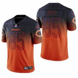 Cole Kmet NFL Draft Jersey Bären Orange Farbe Eile Begrenzte