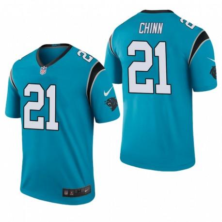 Carolina Panthers und 21 Jeremy Chinn Blau NFL Draft Jersey