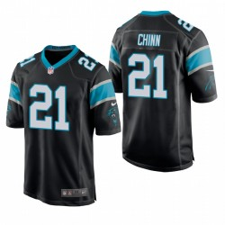 Carolina Panthers Jeremy Chinn Schwarz NFL Draft Spiel Jersey