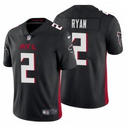 Matt Ryan Atlanta Falcons Vapor Begrenztes Schwarzes Trikot