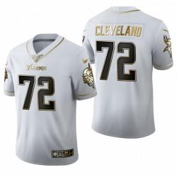 Ezra Cleveland Trikot Vikings Weiß NFL Draft