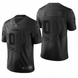 Personalisieren NFL MVP Trikot Vikings Black Ltd