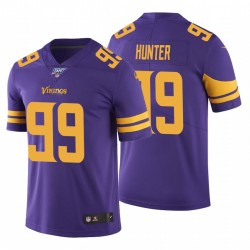 Minnesota Vikings Danielle Hunter 100. Jahreszeit Lila Vapor begrenzte Trikot