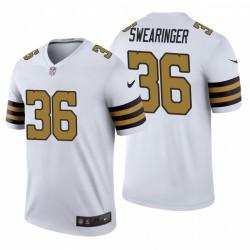 New Orleans Saints D. J. Swearinger & 36 Farbrausch Legend Trikot