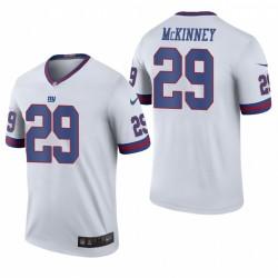Xavier McKinney NFL Draft Trikot New York Giants weiße Farbe Rausch Legend