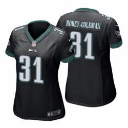Nickell Robey-Coleman Philadelphia Eagles Spiel-Schwarz-Trikot
