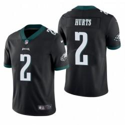 Jalen Hurts Trikot Philadelphia Eagles NFL Draft Schwarz Vapor Begrenzte