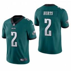 Jalen Hurts Trikot Philadelphia Eagles NFL Draft Grün Vapor Begrenzte