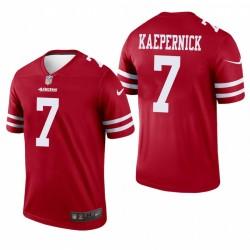 Colin Kaepernick Trikot San Francisco 49ers Rot Legend