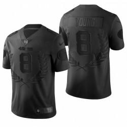 Steve Young NFL MVP Trikot 49er schwarze begrenzte