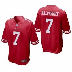 Colin Kaepernick Trikot San Francisco 49ers Rot Spiel
