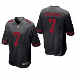 Colin Kaepernick Trikot San Francisco 49ers Schwarz Spiel