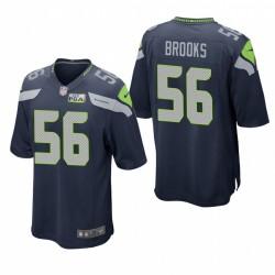 Seattle Seahawks Jordyn Brooks Navy NFL Draft Spiel Trikot