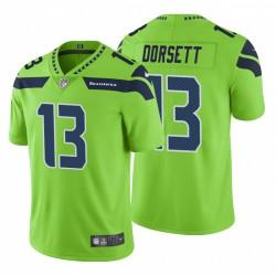 Phillip Dorsett Seattle Seahawks Farbrausch Begrenzte Grüne Trikot