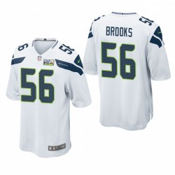 Seattle Seahawks Jordyn Brooks Weiß NFL Draft Alternate Spiel Trikot