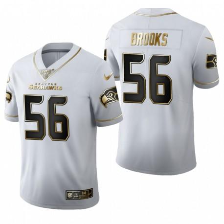 Jordyn Brooks Trikot Seahawks Weiß NFL Draft