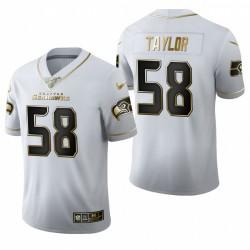 Darrell Taylor Trikot Seahawks Weiß NFL Draft