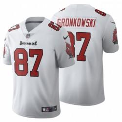 Tampa Bay Buccaneers Rob Gronkowski Vapor Limited-Weiß Trikot
