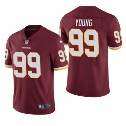 Chase Junge Washington Redskins NFL Draft Burgundy Vapor begrenzte Trikot