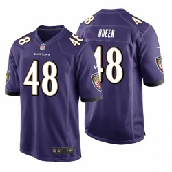 Ravens & 48 Patrick Königin Lila NFL Draft Pick-Spiel Trikot