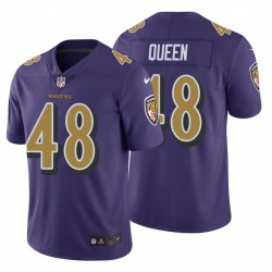 Baltimore Ravens & 48 Patrick Königin Lila NFL Draft Trikot