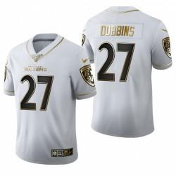J. K. Dobbins Trikot Ravens Weiß NFL Draft
