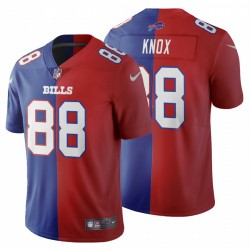Dawson Knox Buffalo Bills Split Two Tone Trikot - Royal Red