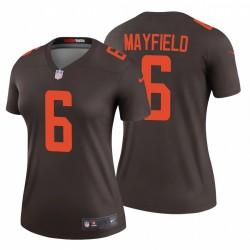 Frauen Cleveland Browns Baker Mayfield & 6 Brown Alternate Legend Trikot