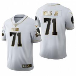 Jedrick Wills Jr. Trikot Browns Weiß NFL Draft