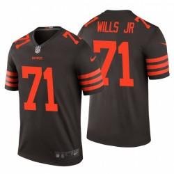 Cleveland Browns und 71 Jedrick Wills Jr. Brown NFL Draft Trikot