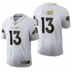 KJ Hamler Trikot Broncos Weiß NFL Draft