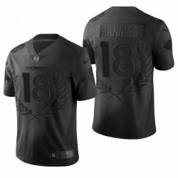 Peyton Manning NFL MVP Trikot Broncos schwarze begrenzte